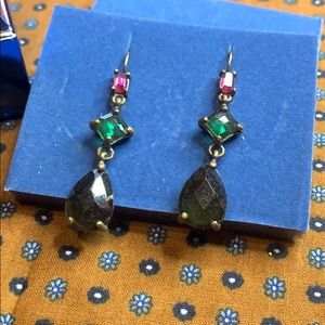 👑 Avon Geometric Linear Earrings NEW